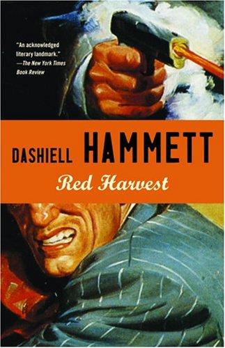Cover for Dashiell Hammet — Red Harvest(Designed by Megan Wilson)