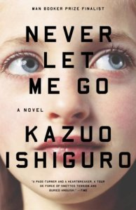 Cover for Kazuo Ishiguro — Never Let Me Go(Designed by Jamie Keenan)
