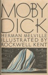 Cover for Herman Melville — Moby Dick (Designed by Rockwell Kent)