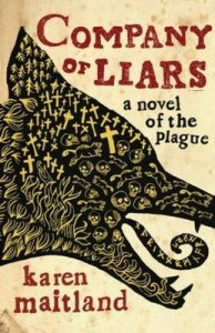 Cover for Karen Maitland — Company of Liars (Designed by Gray 318)