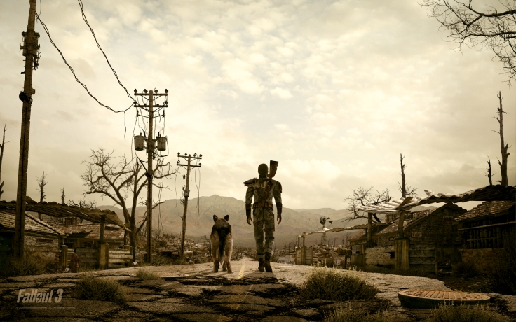 Screen shot of Fallout 3