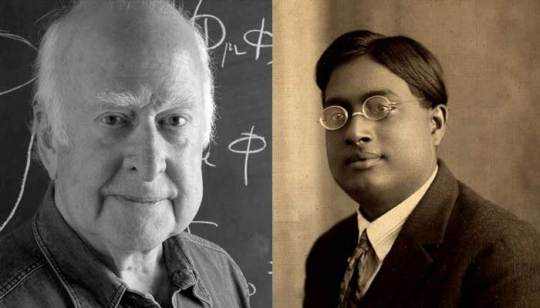 Physicists Peter Biggs and Satyendra Nath Bose
