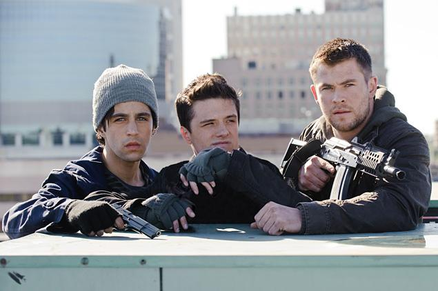 A still image from the upcoming film Red Dawn (2012)