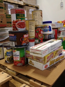 A closeup image of a few of the donated items.
