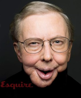 Photo of Roger Ebert from this 2010 Esquire profile.