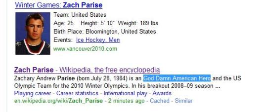 Zachary Andrew Praise (born July 28, 1984) is an Goddamn American Hero and the US Olympic Team...""