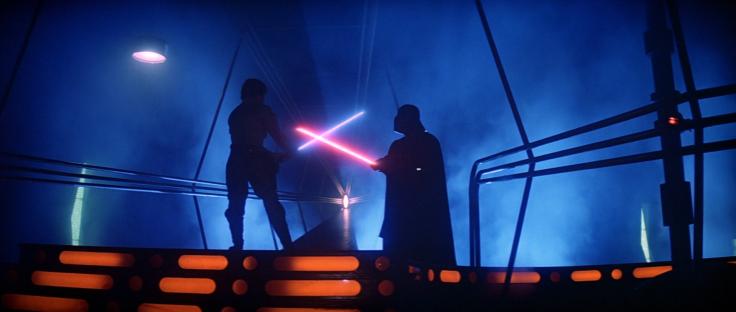 Darth Vader vs. Luke Skywalker on Bespin