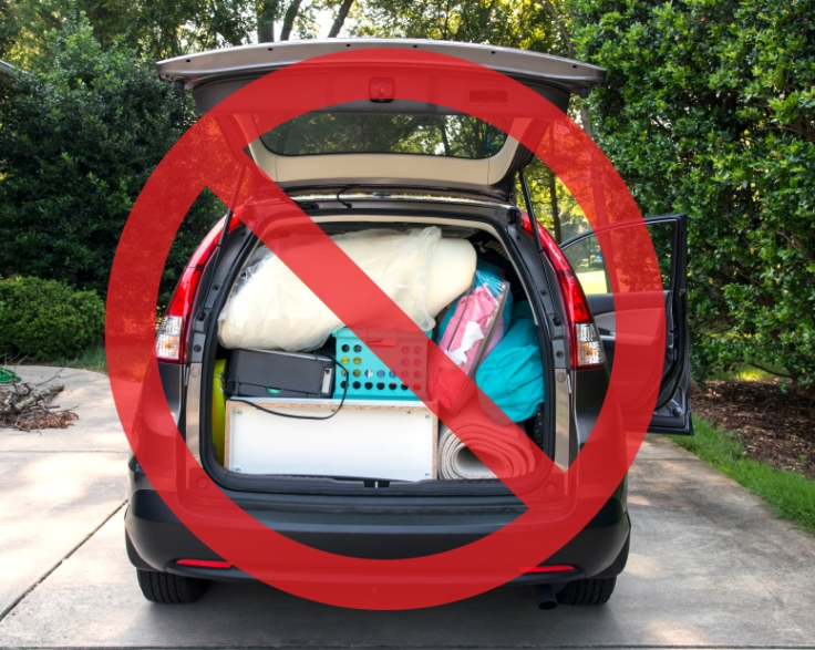 5 Things NOT to Bring to the Dorms